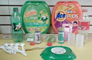 Materiales usados.